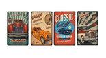 Atomatic Sigaretten box Classic Cars