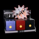 Pop-up sigaretten box metalic