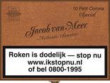 Jacob Van Meer Sigaren Superior Quality Petit Corona Special