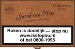 Jacob Van Meer Sigaren Superior Quality Señoritas Special