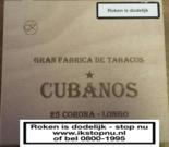 Cubanos 25 Corona - Longo