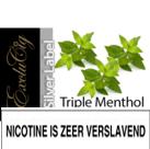 EXCLUCIG SILVER LABEL E-LIQUID TRIPLE MENTHOL 10ML