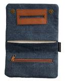 Shagzak Smokeshirt roll-up Jeans blauw