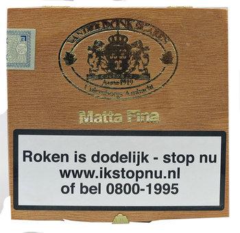 Van Der Donk Sigaren Matta Fina