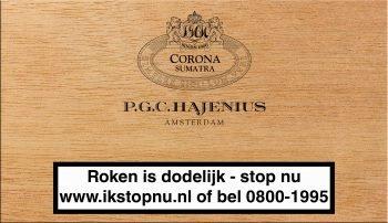Hajenius Corona Sumatra Sigaren 25
