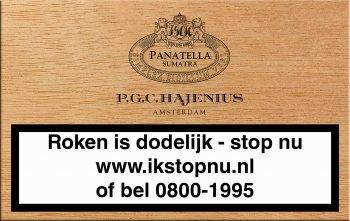Hajenius Panatella Sumatra Sigaren 20