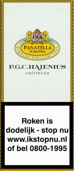 Hajenius Panatella Sumatra Sigaren 5