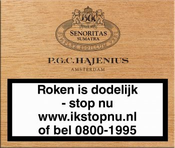 Hajenius Senoritas Sumatra Sigaren 25