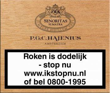 Hajenius Senoritas Sumatra Sigaren 10