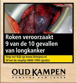 Oud Kampen La Donna sigaren 50