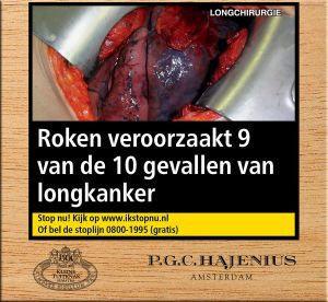 Hajenius Kleine Tuitknak Sumatra sigaren 25