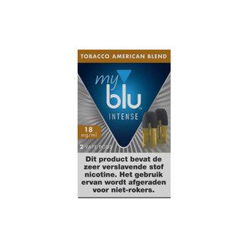 Blu pods intense tobacco american