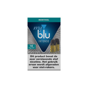 Blu pods intense menthol