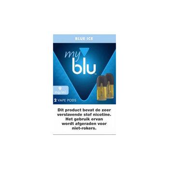 Blu pods blue ice 9 mg 2 stuks