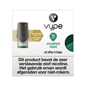 Vype ePen 3 caps crushed mint 18 mg 2 stuks
