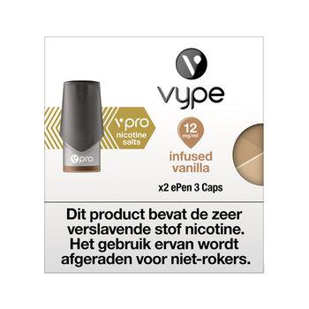 Vype ePen 3 caps infused vanilla 12 mg 2 stuks