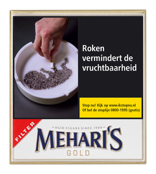 Agio Meharis Filter Gold sigaren 20 filter