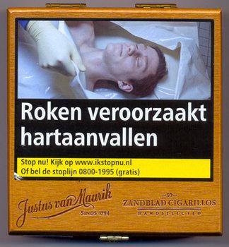 Justus van Maurik Zandblad Cigarillo sigaren 50