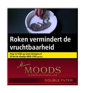 Moods mini double filter sigaren