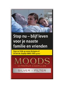 Moods Silver Filter sigaren