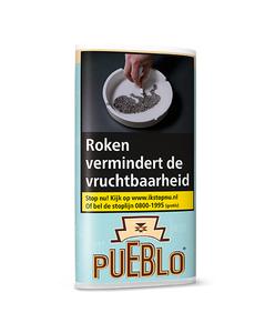Pueblo blue shag 30 gram (blauw)