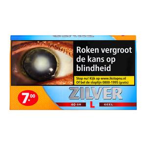 Zilver Zacht van Smaak shag 40 gram