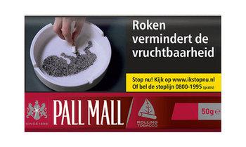 Pall Mall heavy shag 50 gram (rood)