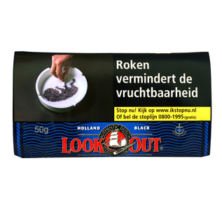 Look out Black (zwaar) 50 gram