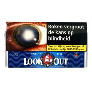 Look out blue (halfzwaar) 50 gram