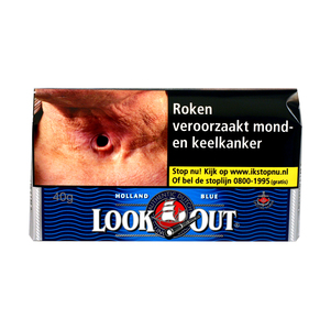 Look out blue (halfzwaar) 40 gram