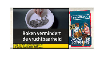 Javaanse Jongens Tembaco shag 50 gram