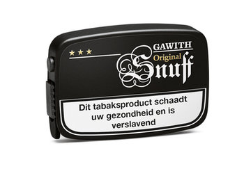 Gawith Snuff snuiftabak (apricot)