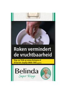 Belinda Super filter kings menthol sigaretten