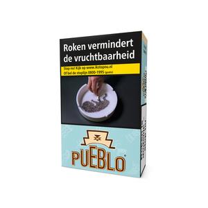 Pueblo blauw sigaretten (light) zonder additieven