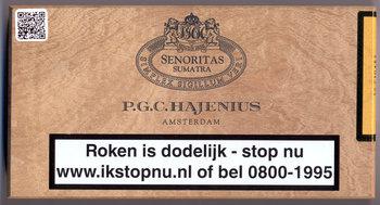 Hajenius Senoritas Sumatra Sigaren 50