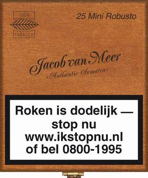 Jacob Van Meer Sigaren Mini Robusto 25