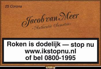 Jacob Van Meer Sigaren Corona 25