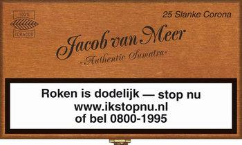 Jacob Van Meer Sigaren Slanke Corona 25