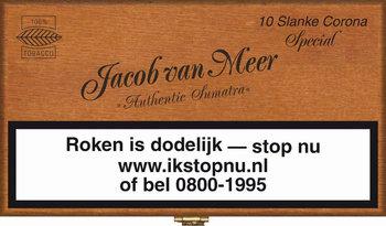 Jacob Van Meer Sigaren Slanke Corona Special 10