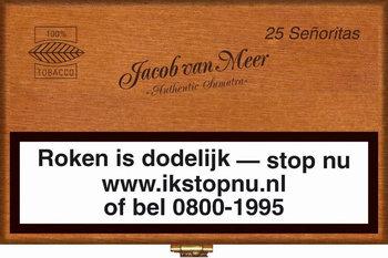 Jacob Van Meer Sigaren Señoritas 25