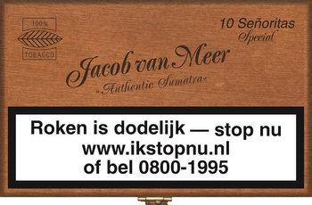 Jacob Van Meer Sigaren Señoritas Special 10