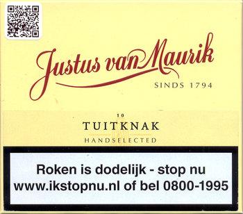 Justus van Maurik Tuitknak sigaren 10