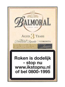 Balmoral Aged 3 years Coronita Sigaren