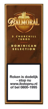 Balmoral Dominican Selection Churchill Tubos sigaren