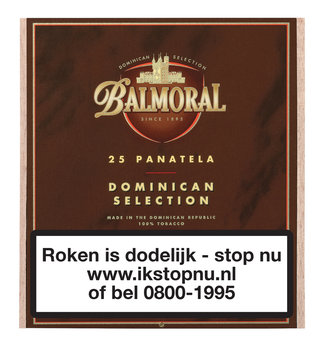 Balmoral Dominican Selection Panatella sigaren