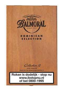 Balmoral Dominican Collection sigaren 12