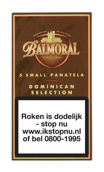Balmoral Dominican Selection small Panatela sigaren