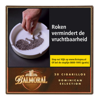 Balmoral Dominican Selection Cigarillos sigaren