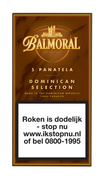 Balmoral Sigaren Dominican Selection Panatella 5