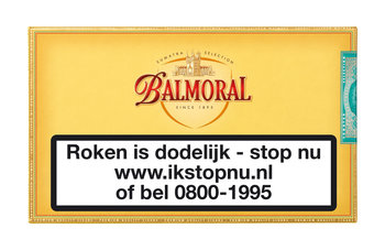 Balmoral Petit Corona sigaren 10